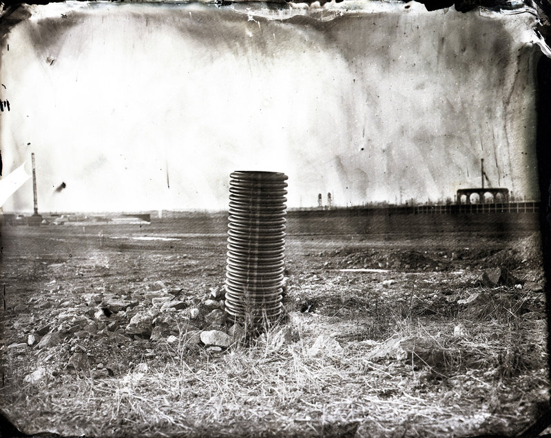 """""""Meadowlands Landscape"""" by Cole Caswell from """"Formal Evidence"""" at Zero Station"""