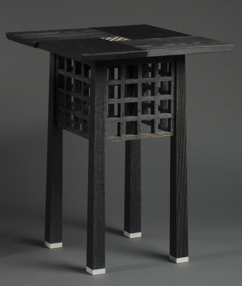 """Kevin Rodel's """"Viennese End Table"""""""