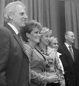 WITH ADMINISTRATORS, trustees and physicians from 65 hospitals in attendance, Miles Memorial Hospital of Damariscotta was recently honored as one of the top rural hospitals in the United States. Shown in the photo are, from left, Martin Hatley, Leapfrog board member and president of Partnership for Patient Safety in Chicago; Cindy Leavitt, LCH senior vice president of Hospital Operations; Cindy Coyne, LCH director of Quality Management and Safety; Leah Binder, CEO, Leapfrog Group; and Keith Reissaus, board chairman, Leapfrog Group.