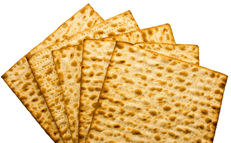 Matzo can be a little dry, it's true, so be sure to slather it well with something.