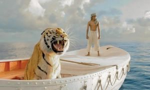 "THIS FILM IMAGE released by 20th Century Fox shows Suraj Sharma as Pi Patel in a scene from ""Life of Pi."""