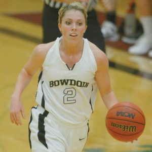 BOWDOIN COLLEGE SENIOR Kaitlin Donahoe will be counted on to help lead the 2012-13 Polar Bear women's basketball team.