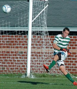 BRUNSWICK HIGH SCHOOL goaltender Greg Walton was selected as the KVAC Boys Soccer Player of the Year, leading the Dragons to an Eastern Maine Class A semifinal berth.