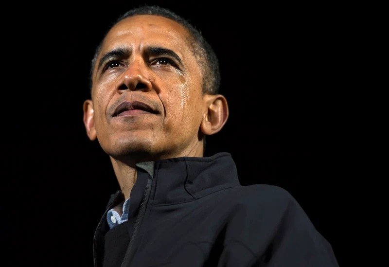 President Obama wasn't hiding his emotions Monday as he wrapped up his successful re-election campaign with a final stop in downtown Des Moines, Iowa, before heading to Chicago to watch returns.