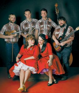 THE SWEETBACK SISTERS' COUNTRY CHRISTMAS SINGALONG is one of the holiday acts planned at One Longfellow Square in Portland. The Sisters will perform Wednesday.