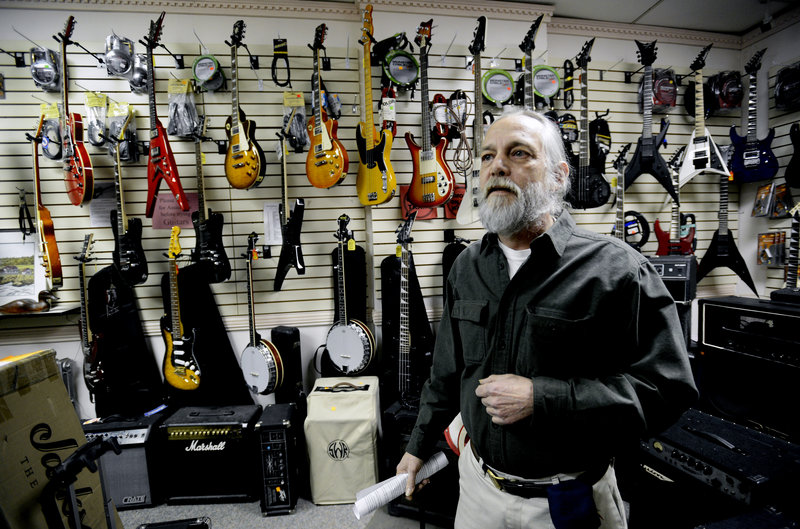Mike Fink in Portland is frustrated with the protesters of Planned Parenthood which is next to his business. Fink owns Guitar Grave and Mike's restaurant – both on Congress Street – and plans to organize a protest of his own.