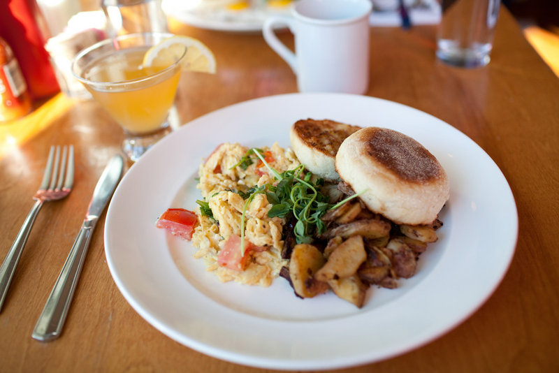 Blogger Meredith Perdue shared a photo that she took of a breakfast scramble at Local 188 in Portland