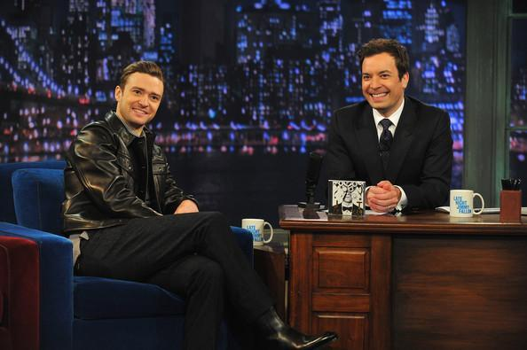 Lawrence Manchester was on the job when Fallon hosted Justin Timberlake last week.