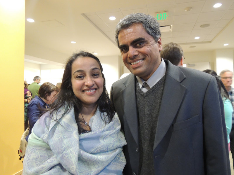 Married Mainers Shirin Sanal and Sachin Hejaji both immigrated from India more than 13 years ago and now support newer arrivals.