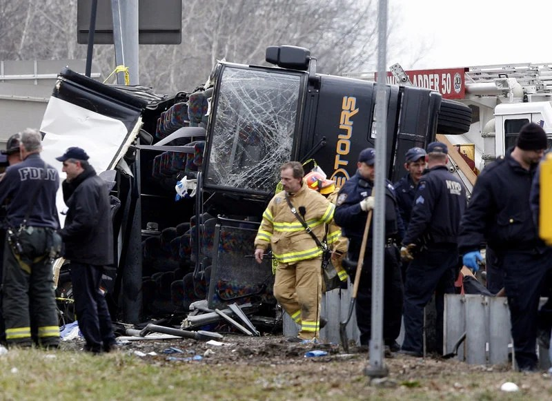Prosecutors tried to place responsibility for this 2011 crash, which killed 15 people in the Bronx, on bus driver Ophadell Williams, who was working two jobs at the time. A jury found Williams not guilty in the crash.