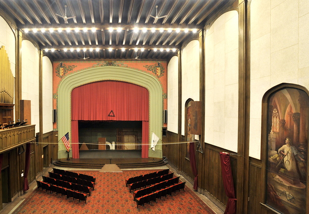 Masons open their majestic spaces - Portland Press Herald