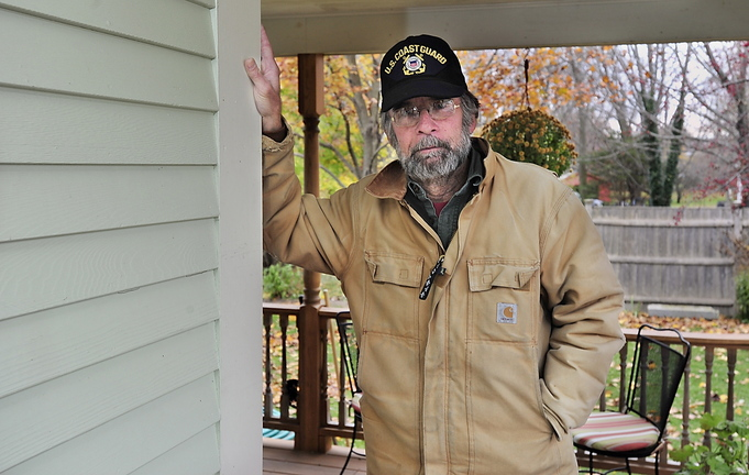 Eliot resident Ray Faulkner says he had to power wash his house after a flow of pollutants came across the river in the summer.