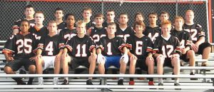 THE BRUNSWICK HIGH SCHOOL freshmen football team closed out an undefeated season with a recent shutout win over rival Mt. Ararat. The Dragons were 7-0 and coached by Randy Klatt.