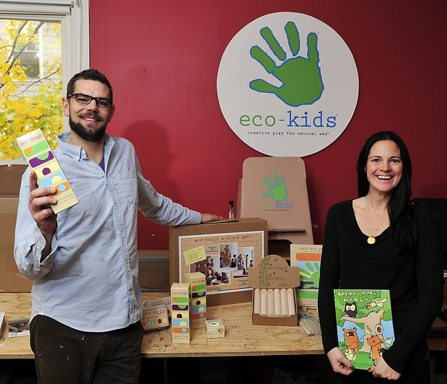 Kip and Cammie Weeks offer 13 products from the business they run out of their Portland home.