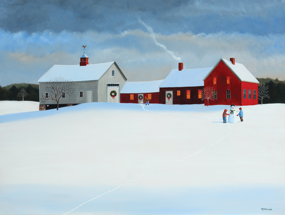 Maine Artist Paints Cards For Causes Portland Press Herald