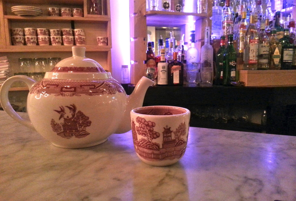 """Empire's """"whiskey pot"""" is made with whiskey, triple sec, gin and sweetened tea for $6.50 (half-pot) or $13 (full)."""