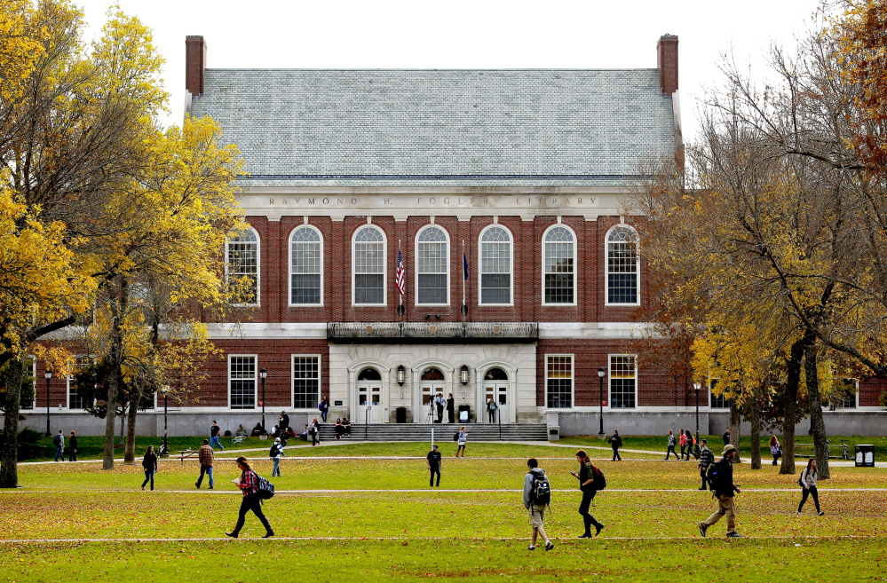 The University of Maine in Orono would received $900,000 of the reserve funds under a spending plan.