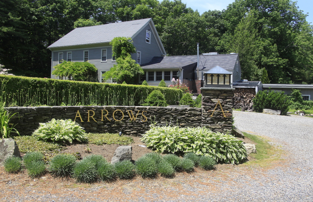 Arrow's Restaurant in Ogunquit has been closed and on the market since last fall. The property is marketed as a wedding and event center.