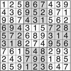 Answer to puzzle on Calendar Page