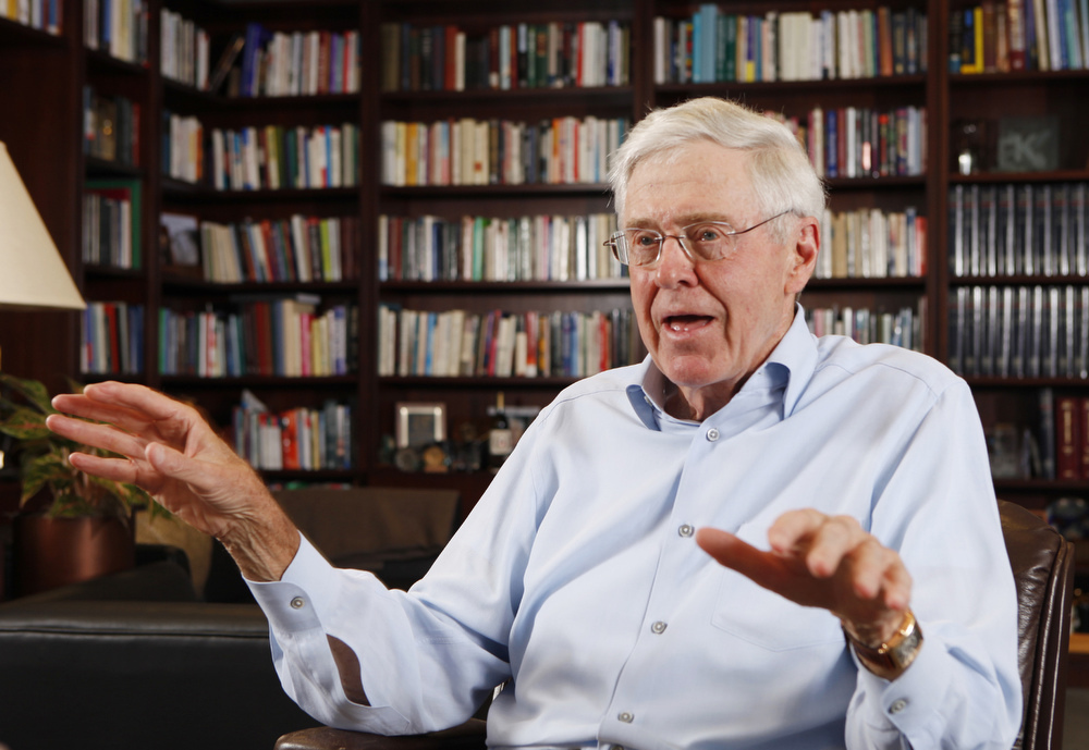 A spry 78, Charles Koch still walks up four flights of stairs to work at Koch headquarters in Wichita, Kansas, and retains a most focused – some say autocratic – modus operandi.