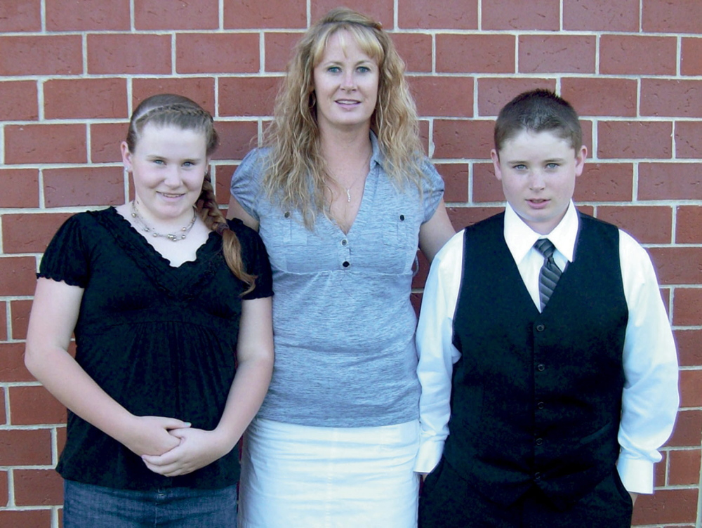 Amy Bagley Lake and her two children, Monica, 12, and Coty, 13, were killed by her husband, Steven Lake, in June 2011. Her parents, Ralph and Linda Bagley, helped raise seed money for a system that tracks people charged with domestic abuse while they are out on bail.