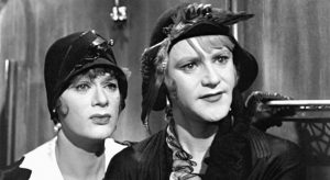 """TONY CURTIS, left, and Jack Lemmon in """"Some Like it Hot."""""""