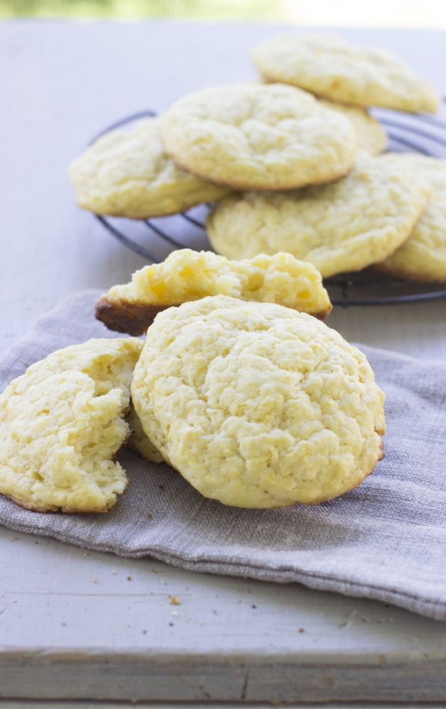 Easy biscuits made with butternut squash and butter.