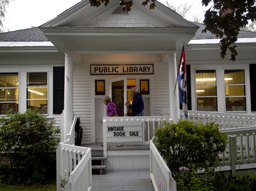 The North Bridgton Public Library's financial problems echo throughout rural Maine, where such institutions are struggling to remain open.