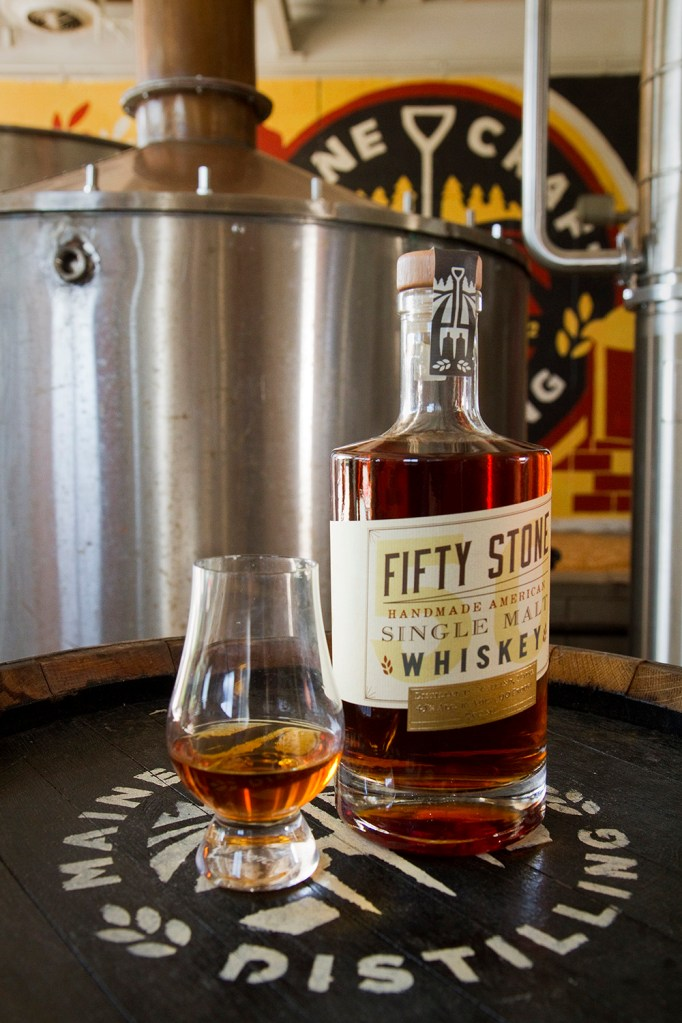 Maine whiskey making warms up - Portland Press Herald