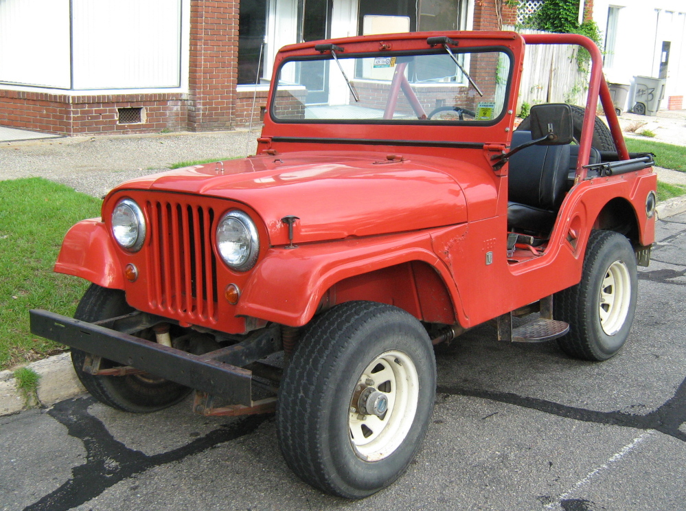 The Jeep CJ-5 was made and sold for 30 years in the U.S. A 1979 CJ-5 similar to this was pulling the Harvest Hill Farms hayride Saturday night.