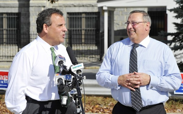 Chris Christie says Maine's race for governor critical for ...