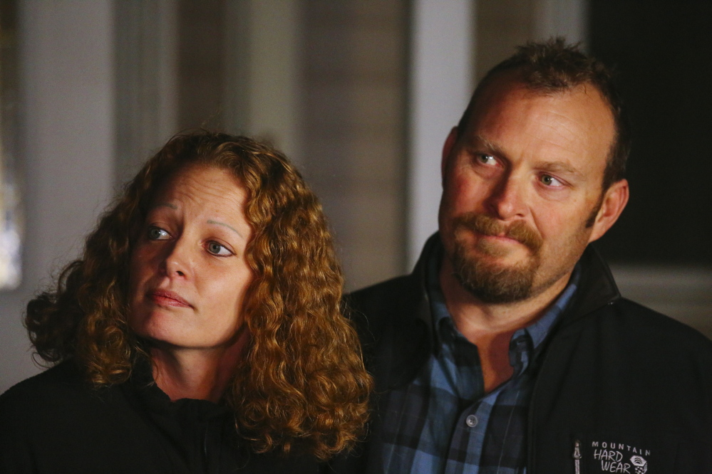 Kaci Hickox and her boyfriend, Ted Wilbur, say they will stay in Maine through Monday, when a state court order expires.