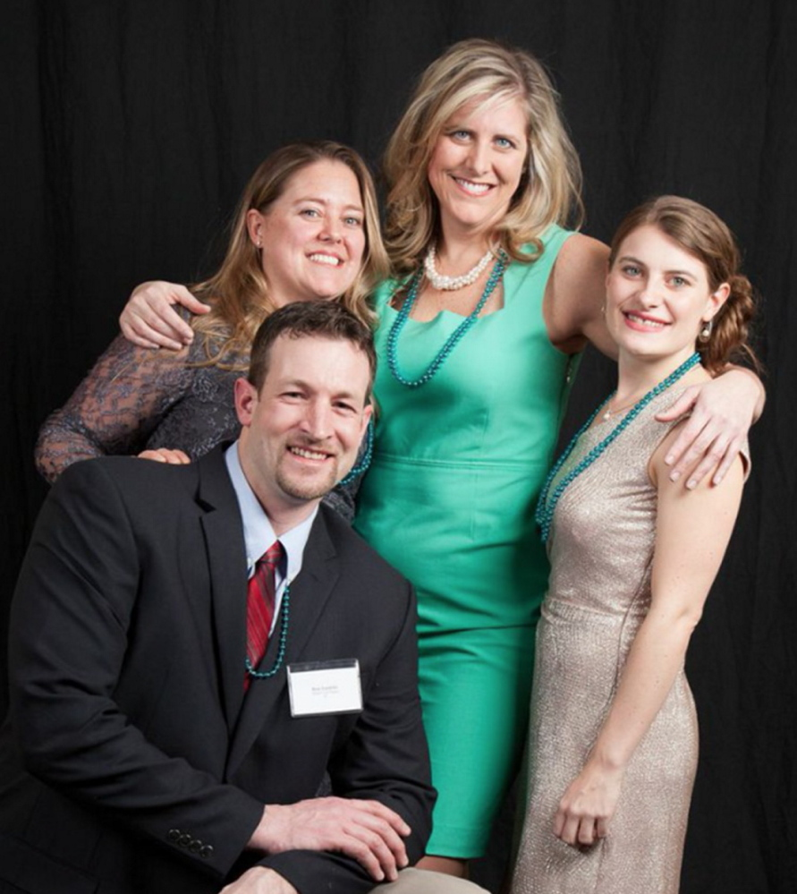 The leadership team at Dream Local Digital, from left Dale Landrith, chief strategist; Alyssa Rolerson, senior project manager; Shannon Kinney, founder; and Molly Gray, director of sales and operations.