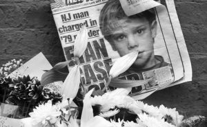 A NEWSPAPER with a photograph of Etan Patz at a makeshift memorial in the SoHo neighborhood of New York where Patz lived before his disappearance on May 25, 1979. The memorial was set up near a building that housed a convenience store where Pedro Hernandez, accused of killing Patz, told police 33 years after they boy's disappearance, that he choked the 6- year-old and put the still-living boy into a plastic bag, boxed up the bag and left it on a street. Opening statements in Hernandez's trial are set for today.