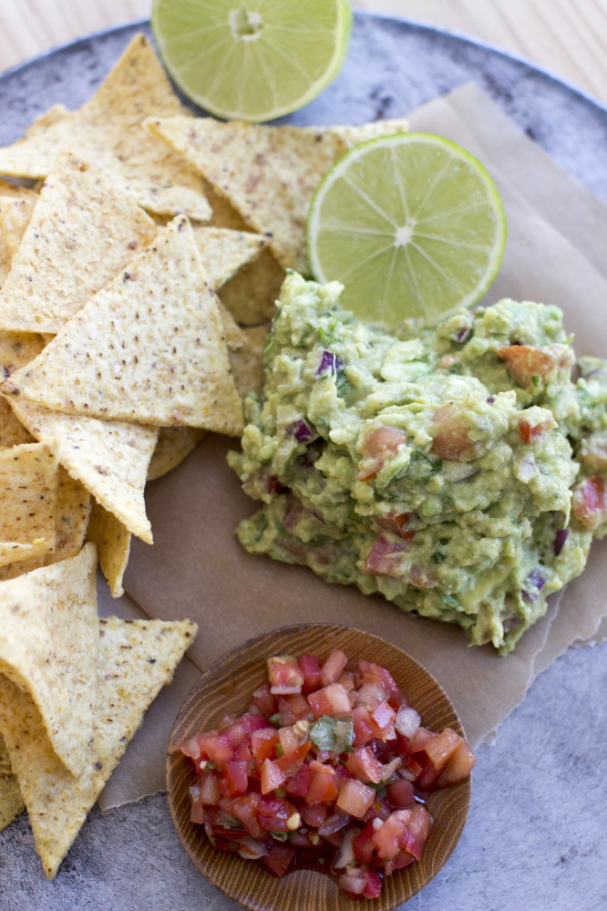 Basic guacamole is the starting point for flavorful variations.