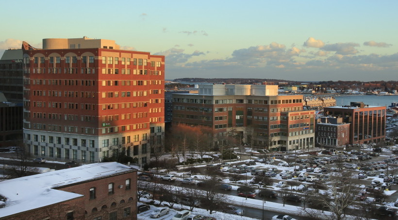 One and Two Portland Square and their parking lots comprise the largest commercial real estate sale on record in Portland. The property sold for $66 in April.