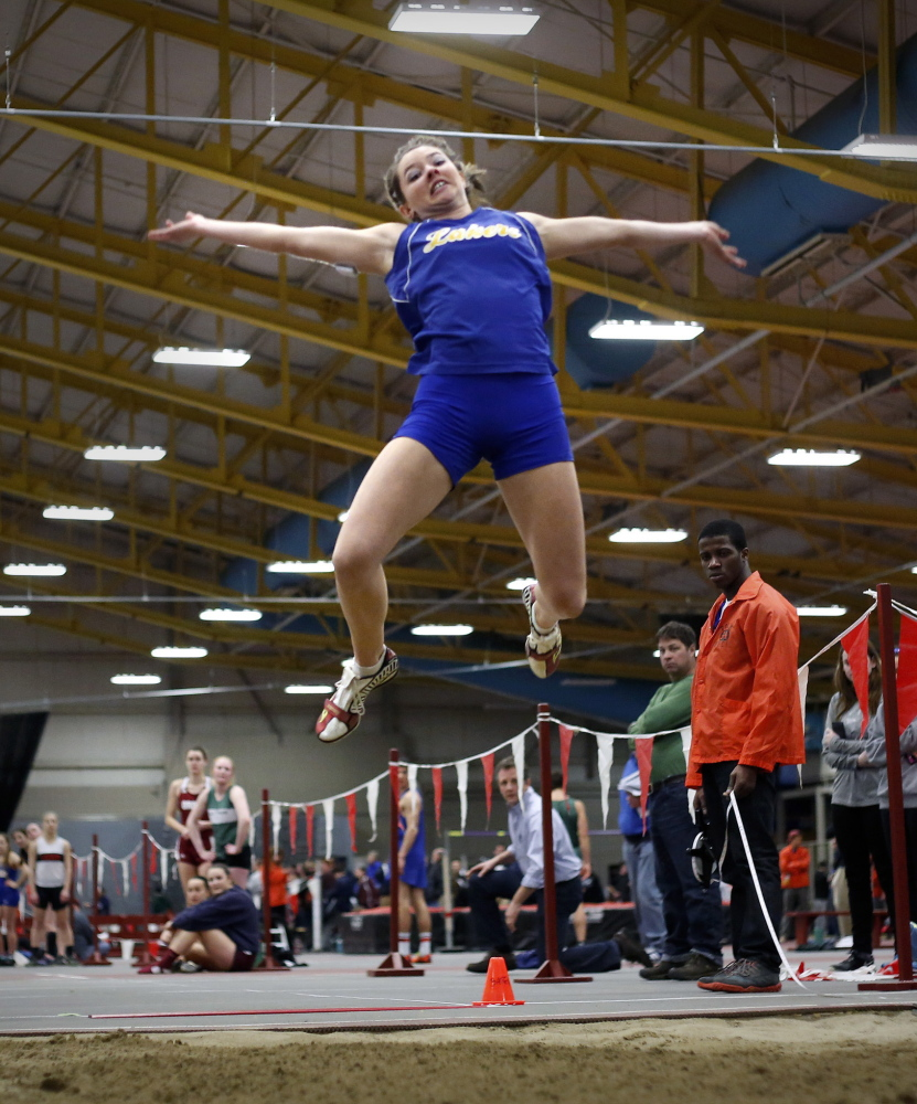 All eyes around the state were on Kate Hall of Lake Region this season as she reached new heights not only in Maine but as a national champion in the long jump.