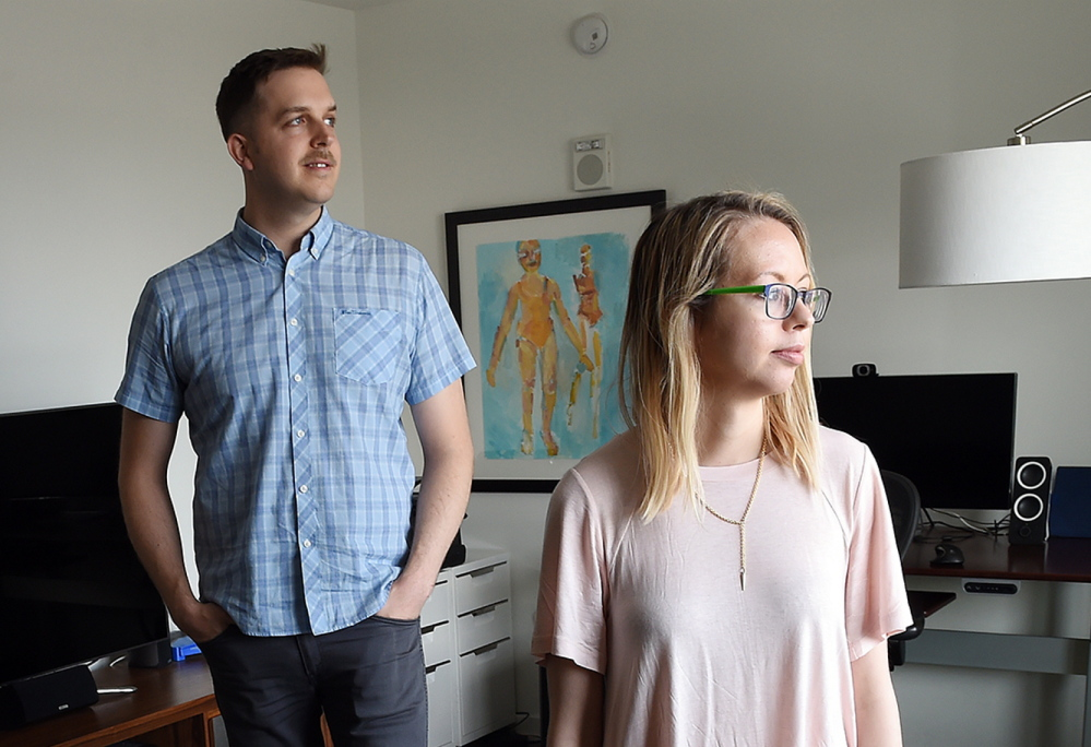 Unlike their parents, Kelly and Josh Phillips are just fine living in a small apartment in Washington, D.C., where they only have space for digitalized collectibles.