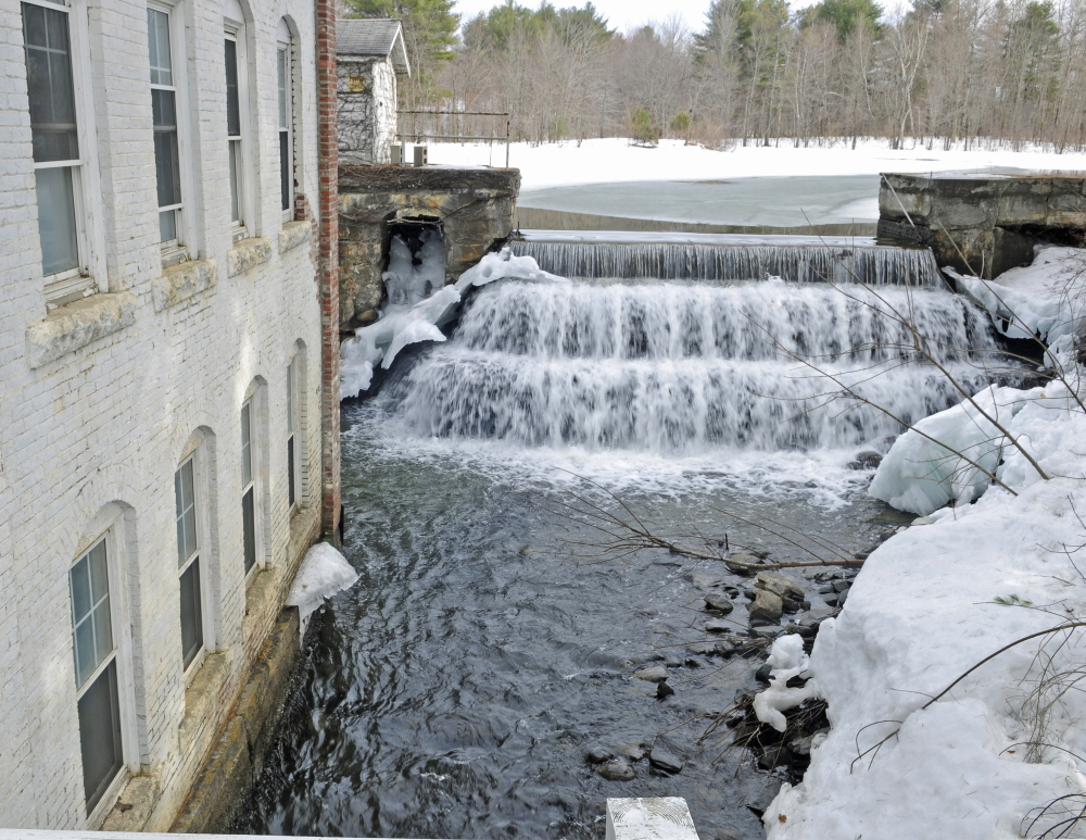 Lombard Dam on Outlet Stream