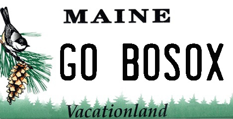 Maine license plates show allegiance to Red Sox - Press Herald