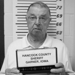 HENRY RAYHONS is shown in this August 15, 2014 photo. The nursing home staff caring for Rayhons' wife, Donna Lou Rayhons, told the former Iowa lawmaker that his wife of seven years was no longer mentally capable of legally consenting to have sex. Prosecutors say that Rayhons did not get the message. Today, he is preparing to stand trial for sexually assaulting his wife, who died last August, days before he was formally charged.