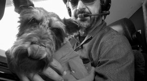 VOLUNTEER JIM NISTA delivers Finn, a rescued dog, in Everett, Washington, in this Dec. 5, 2014 photo.