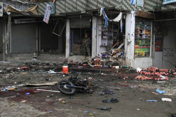 Islamic State blamed for Afghan suicide bombing killing 35 ...