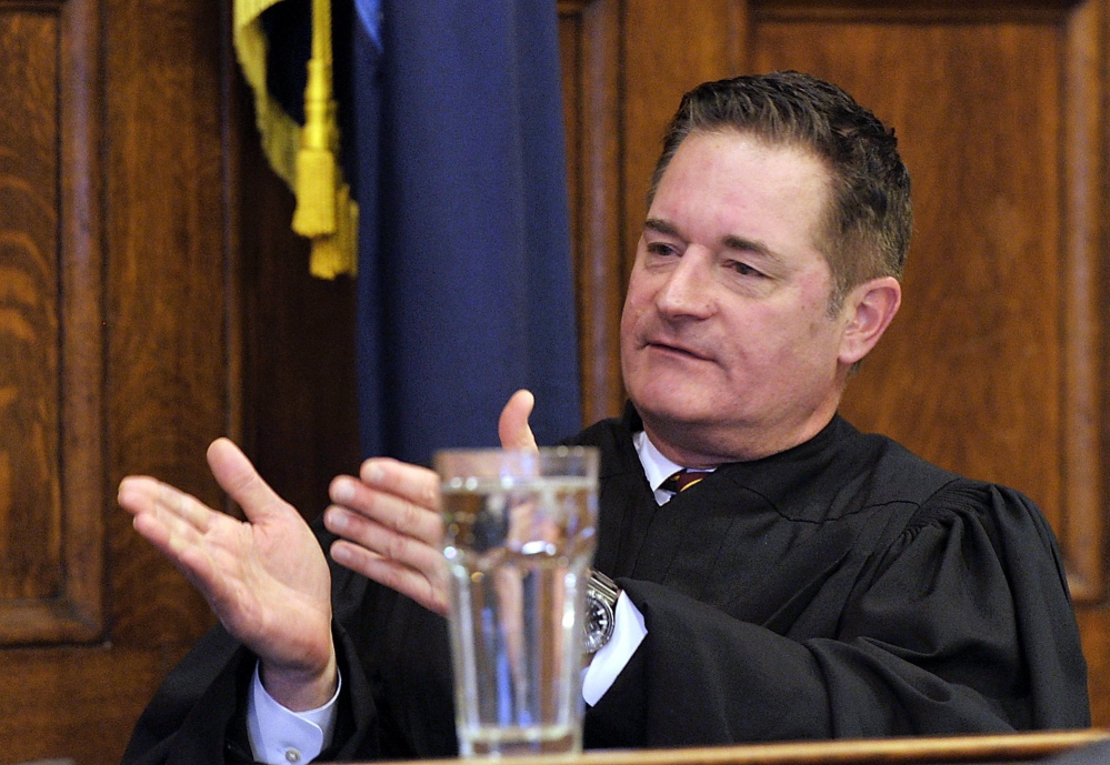 Maine District Court Judge Jeffrey Moskowitz was appointed to a second term Tuesday in a 30-4 Senate vote.