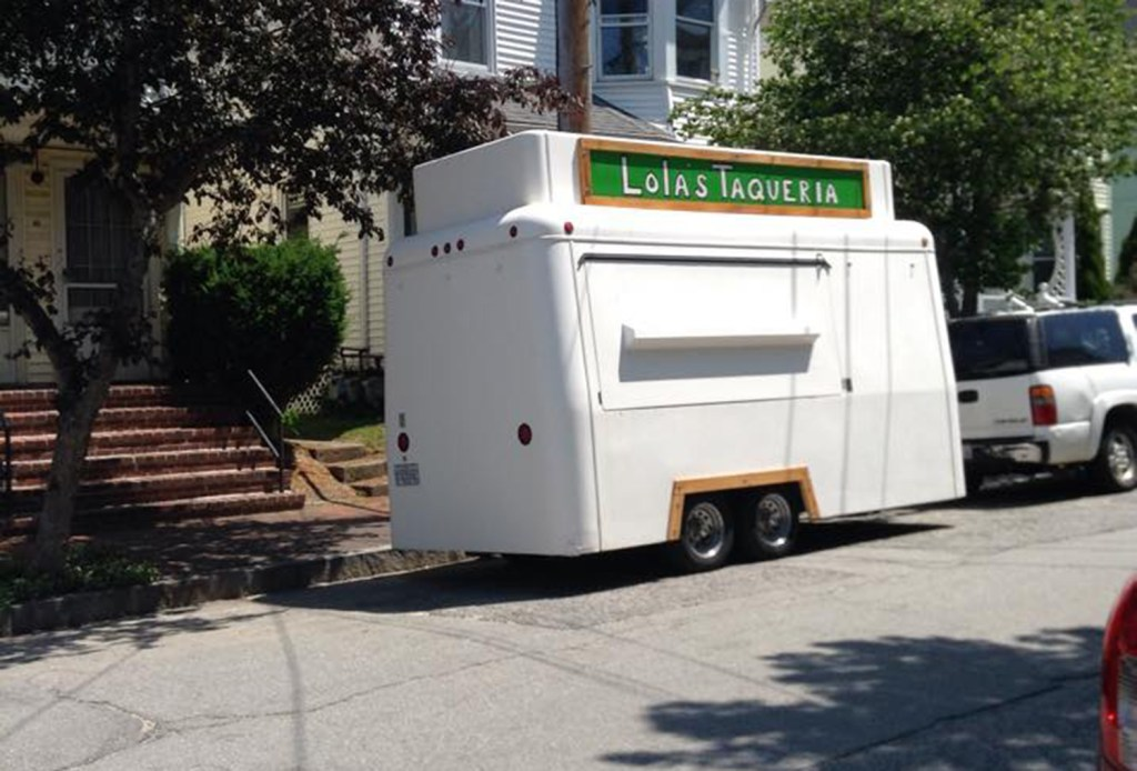 Lola's Taqueria food truck is parked in Portland three days a week. Courtesy photo