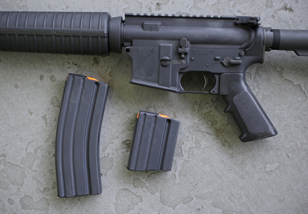 This AR-15 is similar to the one Nikolas Cruz legally purchased about a year before last week's mass shooting in Parkland, Florida.