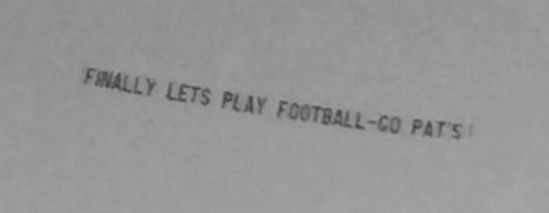 A message from Biddeford resident and New England Patriots fan Richard Pate to NFL Commissioner Roger Goodell is pictured flying over Old Orchard Beach Sunday afternoon. The message was the fourth and presumably last Pate paid to have flown over Goodell's Scarborough home.