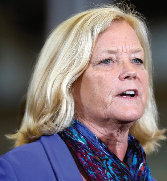 In this 2014 file photo, U.S. Rep. Chellie Pingree, D-Maine, speaks in Kittery.