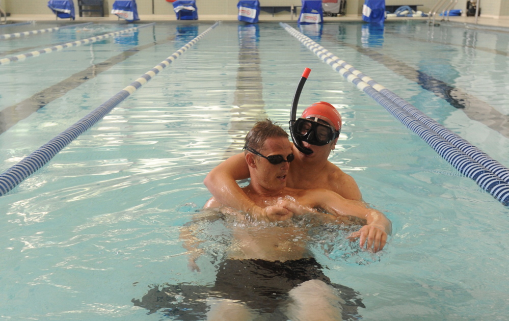 Coast Guard rescue swimmers deeply committed to job - Portland Press