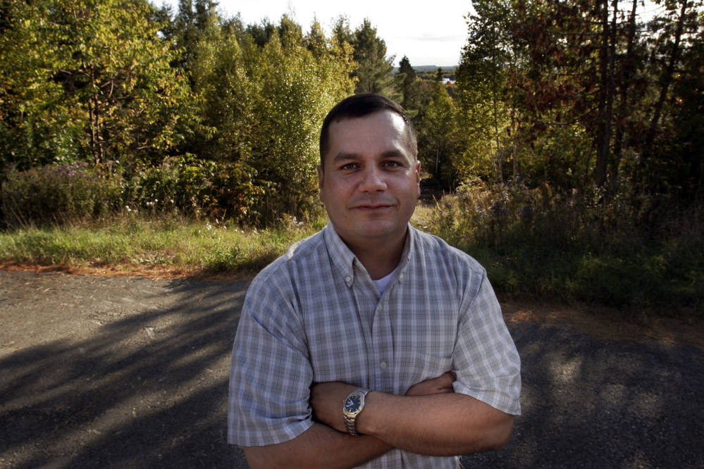 """Billy Nicholas, chief of the Passamaquoddy Tribe at Indian Township, said, """"Don't get me wrong: We're not here to break the law"""" with plans for a marijuana cultivation facility. 2007 Associated Press file photo"""